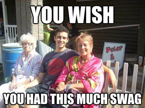 You Wish Meme - you wish you had this much swag dumb carleton kid quickmeme