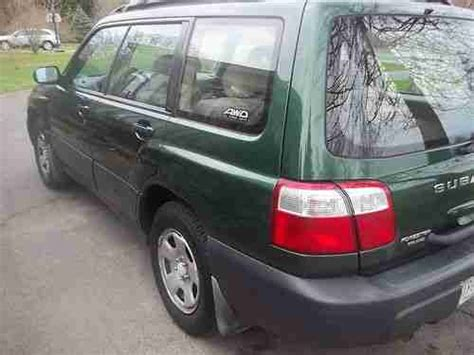 2002 green subaru forester buy used 2002 forester awd green runs looks great