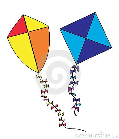 kite clipart  pencil   color kite clipart