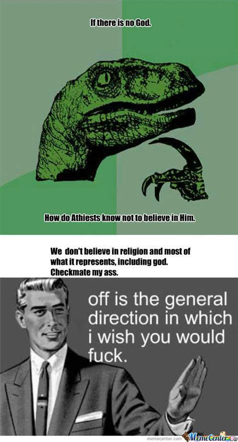Checkmate Meme - rmx rmx checkmate atheists god is real by kitndrum meme center