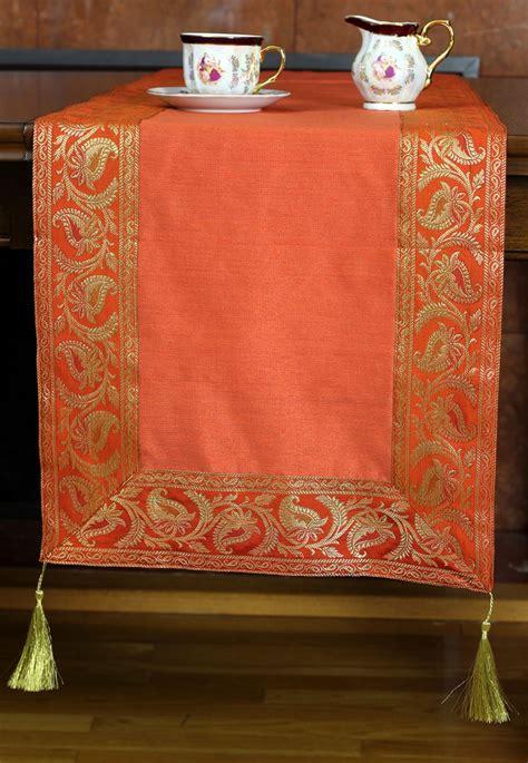 banarsi saree border table runner banarsi designs