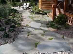 flagstone patios and flagstone walkways