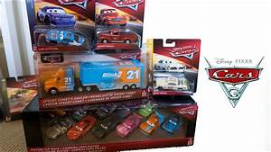 NEW 2019 Disney Cars 3 Toys Diecast UNBOXING 11 pack ...
