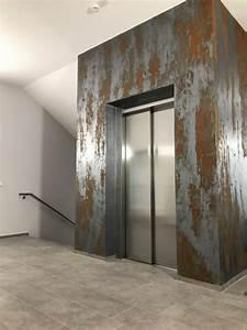 Marmor Effekt Spachtel : innovative wandgestaltung mit rostspachteltechnik ~ Watch28wear.com Haus und Dekorationen
