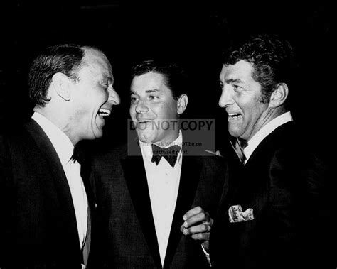 Frank Sinatra With Jerry Lewis And Dean Martin