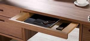 Schreibtisch Mit Schubladen : schreibtisch massivholz ~ Frokenaadalensverden.com Haus und Dekorationen