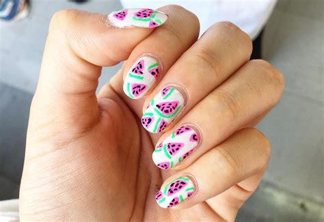 27+ Easy Summer Nail Art Designs, Ideas