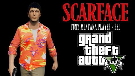 Tony Montana Player + Ped HD (Scarface) GTA5Modscom