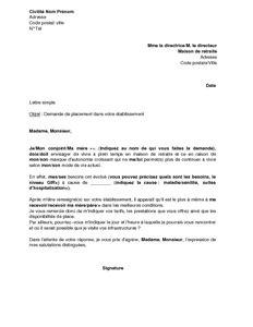lettre de motivation pour maison de retraite lettre de motivation maison de retraite lettre de motivation 2017