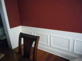 Two Tone Walls With Chair Rail by Painting Wall 2 Colors Painting Walls Two Colors As