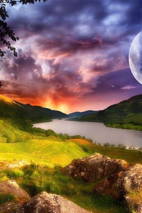 hd fantasy beautiful scenery iphone  wallpapers
