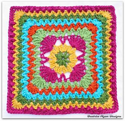 Crochet Square Beatriceryandesigns Zag Pattern Patterns