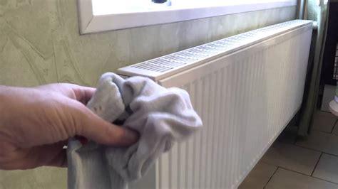 enlever le bruit de l eau qui coule dans un radiateur