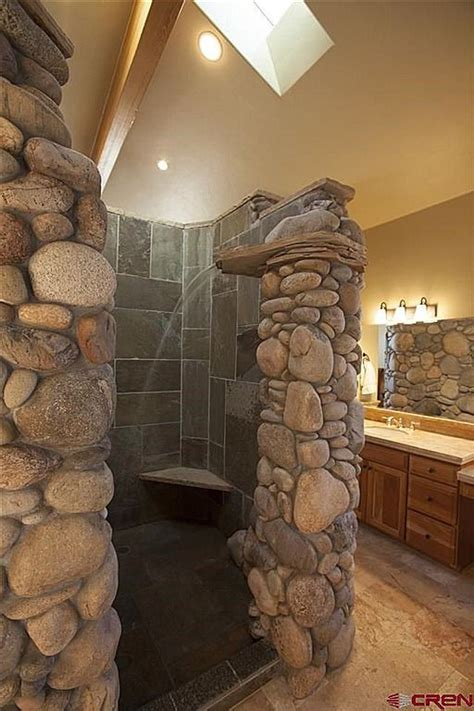25 best ideas about rustic shower on