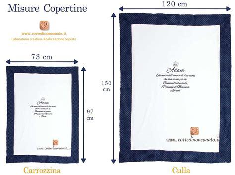 misure copertine crea copertina ricamata per la nascita