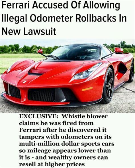 Ferrari ex-employee '' revealed '' that the company trick ...