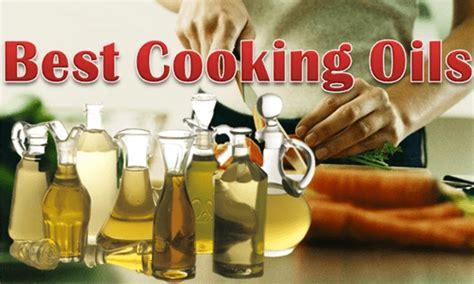 cooking oils healthiest  safest
