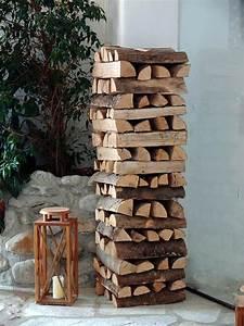 Holz Lagern Im Freien : sichtschutz aus brennholz tipps wie du einen sichtschutz baust ~ Whattoseeinmadrid.com Haus und Dekorationen