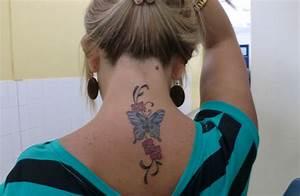 Mariposa, Firuletes y Flores Tatuajes para Mujeres