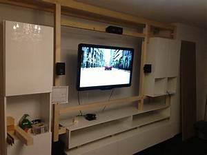Küche Selbst Gebaut : wohnwand selber planen ~ Lizthompson.info Haus und Dekorationen
