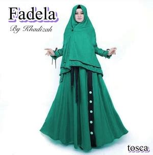 model baju gamis syari pakaian muslimah wanita modern