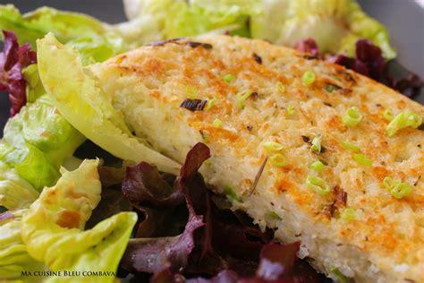 galette de riz au fromage et aux herbes ma cuisine bleu combava