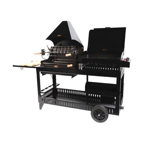 le marquier barbecue charbon plancha gaz 7kw r 244 tissoire noir bap3321c13 mendy alde