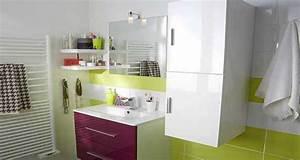 Décoration D Une Petite Salle De Bain : petite salle de bain l 39 espace maxi optimis ~ Zukunftsfamilie.com Idées de Décoration