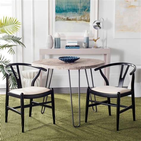 Safavieh Aramis Black Dining Chair (set Of 2)sea6000b