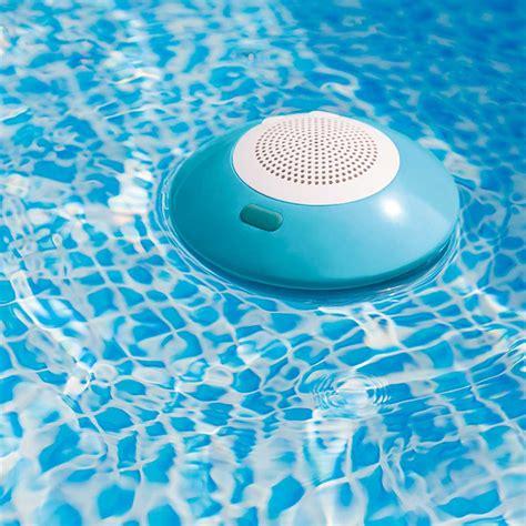 intex pool led intex floating pool speaker with led light