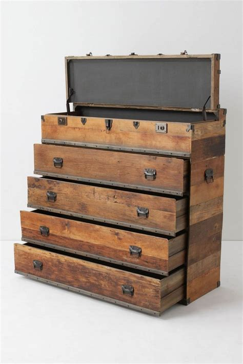 wood chest of drawers how to make a chest of drawers from pallets woodworking