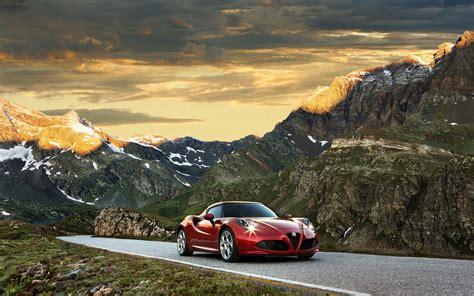 2014 Alfa Romeo 4c Wtcc Safety Car Wallpaper