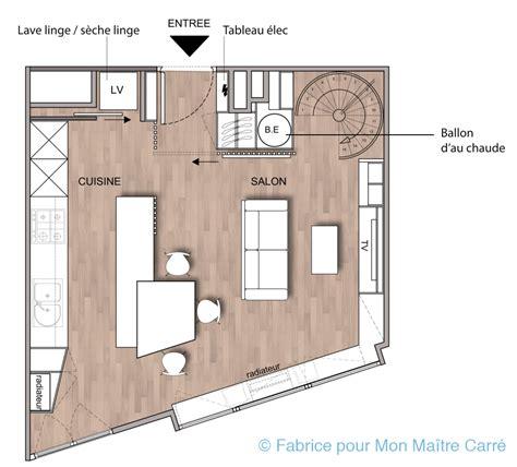 plan maison cuisine ouverte cuisine plan cuisine ouverte 1000 idées sur la
