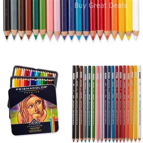 colored pencils prismacolor prismacolor premier assorted 48 color pencil set colored