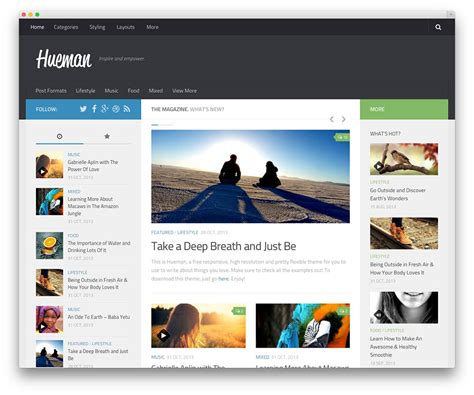 Best Free Themes 50 Best Free Responsive Themes 2019 Colorlib