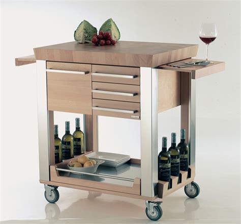 kitchen island on wheels ikea il carrello da cucina di legnoart idee per la casa