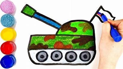 Tank Drawing Draw Tutorial