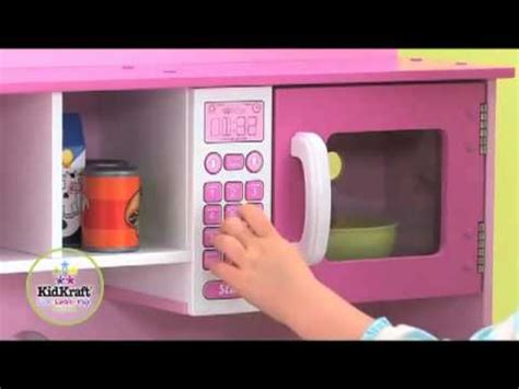 kidkraft home cooking kitchen  girls pink play toy