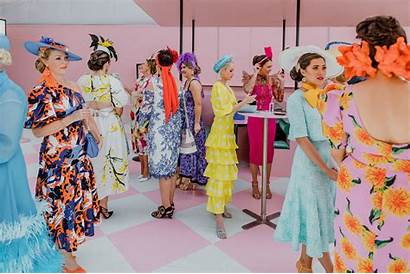 Trends Racing Fabulous Melbourne Cup Spring Femme