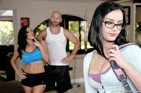 Geeky Not Stepdaughter Let Stretched Kindly Filled My Girls Free Video With Veronica Rayne