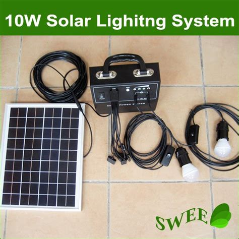 10w 18v solar monocrystalline panel lighting system solar