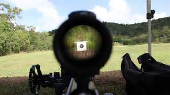Long Range Rifle Shooting Target