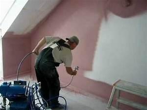Wandfarbe Zum Sprühen : akustikputz spritzen doovi ~ Orissabook.com Haus und Dekorationen