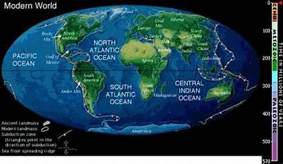 Drift Plate Animation Pangaea Tectonic Detailed Tectonics