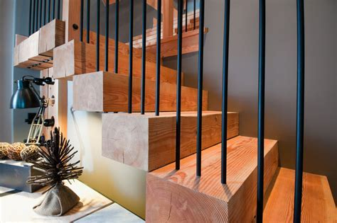 Wild Oceanside Home   Contemporary   Staircase   other