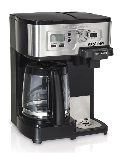 You can download the user manual here, the user guide here, and the application guide here. Hamilton Beach FlexBrew 2-Way Coffee Maker, Model# 49983 | eBay