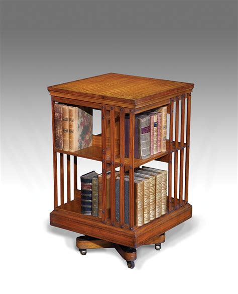 Revolving Bookcase by Antique Revolving Bookcase Rotating Bookcase Antiques