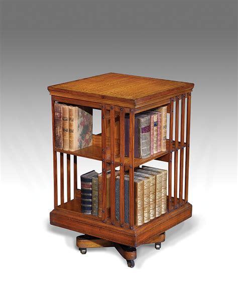 Antique Revolving Bookcase, Rotating Bookcase Antiques