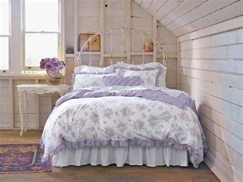 creare una camera da letto  perfetto stile shabby chic