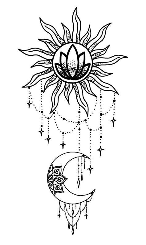 Sun an moon chandelier | Chandelier tattoo, Moon tattoo